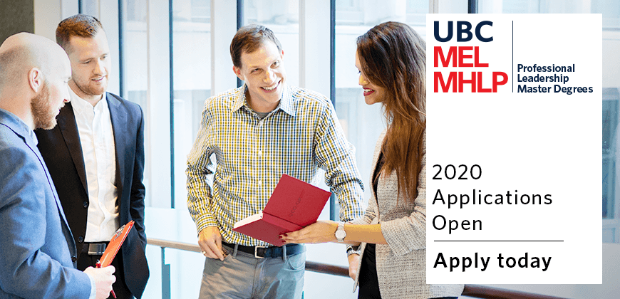 UBC MEL and MHLP 2019 Applications Open