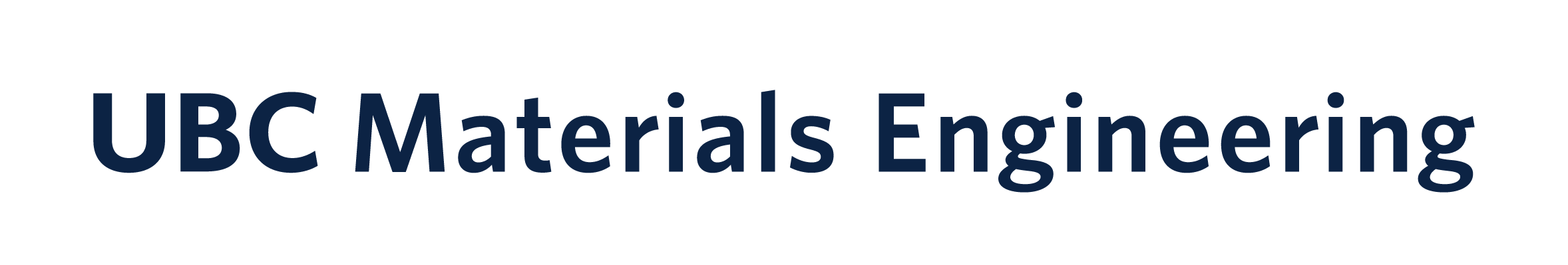 UBC Materials Engineering Logo
