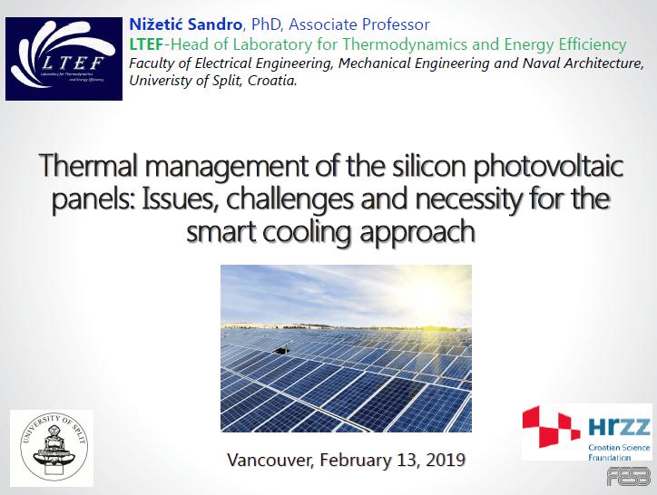 UBC MEL CEEN Seminar Thermal Management