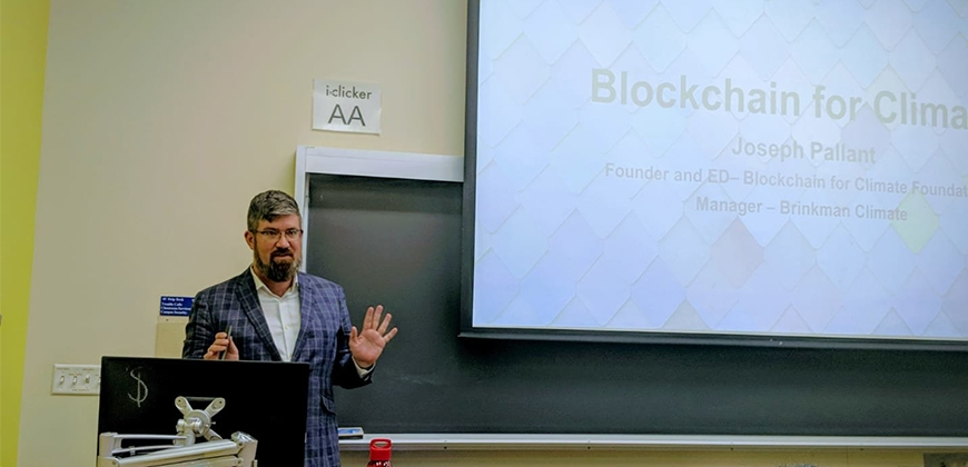 UBC MEL Blockchain for Climate at UBC by MK 3