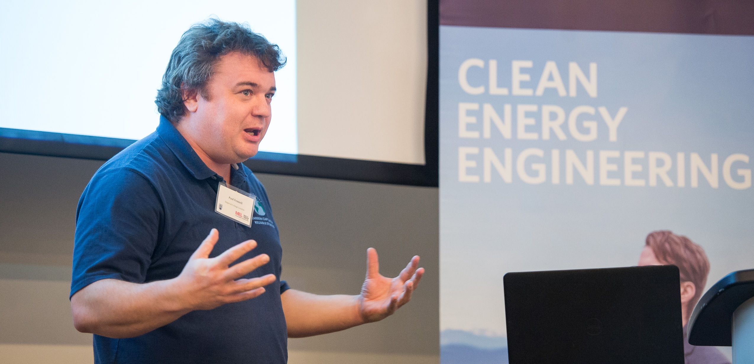 MEL in Clean Energy Engineering Capstone Showcase Event December 2017_Dr. Paul Fennell, Professor of Clean Energy at the Imperial College in London
