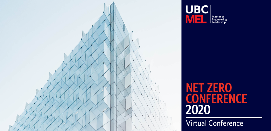 UBC MEL Net Zero Conference 2020