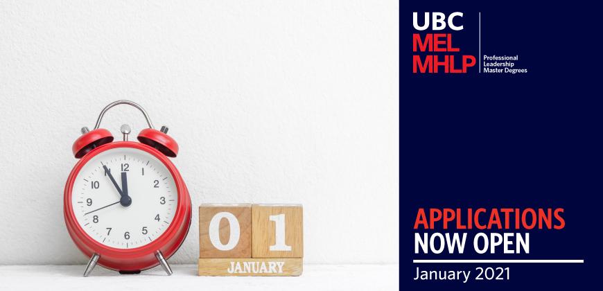 UBC MEL MHLP 2021 Applications Now Open