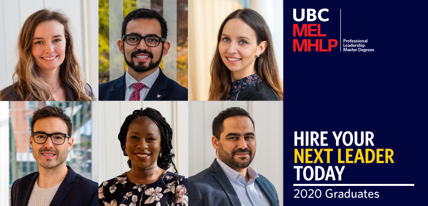 UBC MEL MHLP Employer Hire Your Next Leader 2020