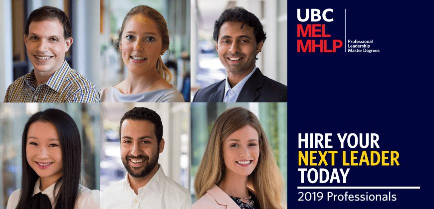 UBC MEL MHLP Hire Our Grads 2019