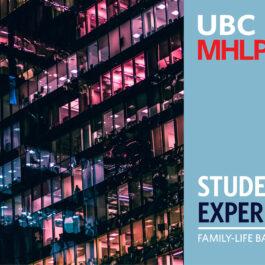 UBC MEL Student Experience - Sarah Cobb