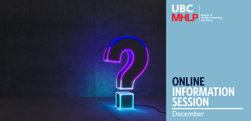 UBC MHLP Info Session December