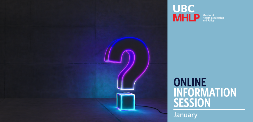 UBC MHLP Info Session January