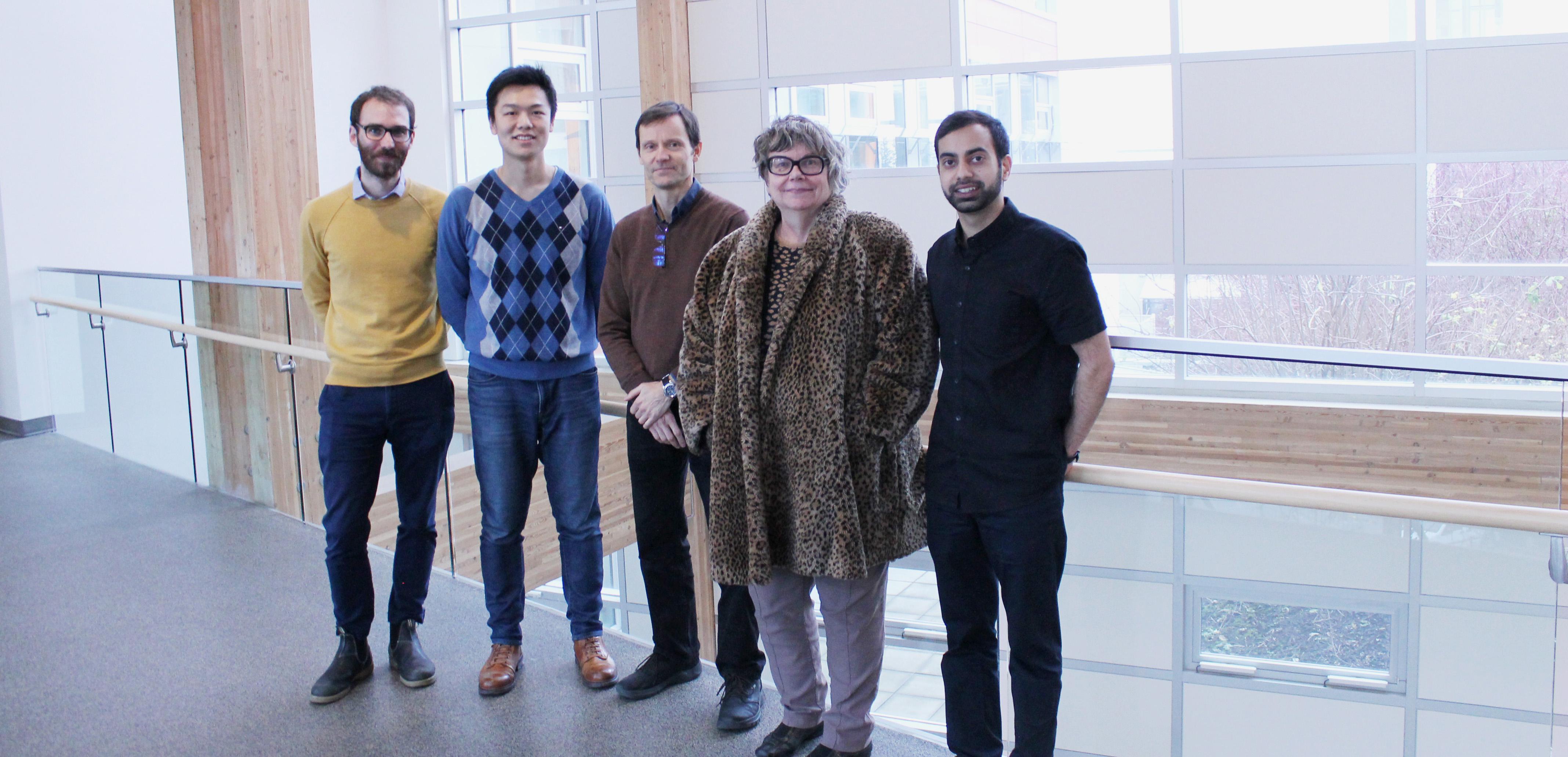 UPAL_David Gill, Kevin Chen, Bud Fraser, Catherine Alkenbrack and Zeshan Nurani