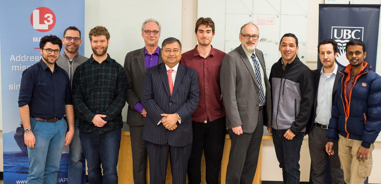 UBC MEL in NAME marine engineering award